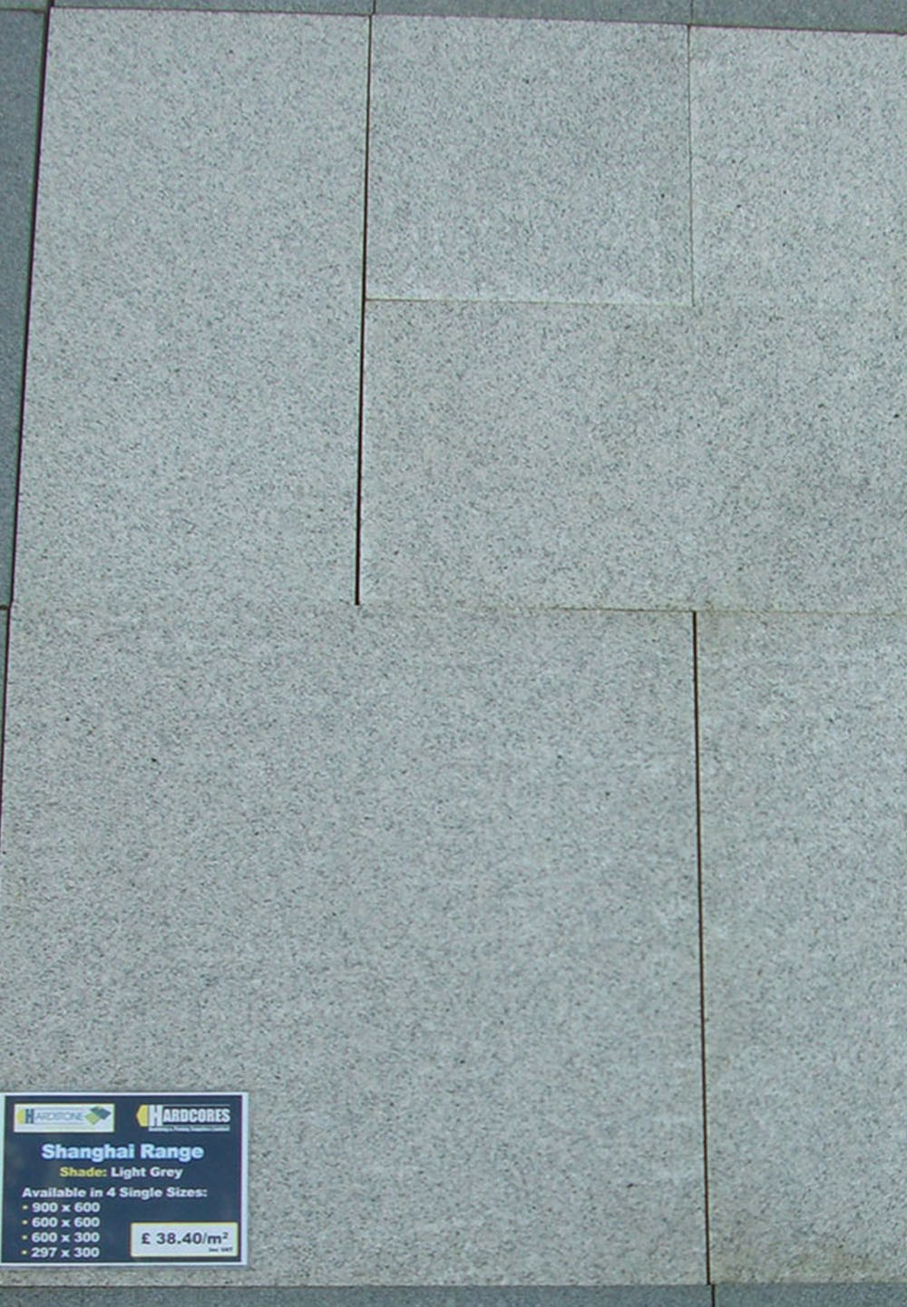 Shanghai Granite Paving - Light