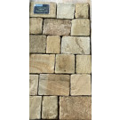 Hardstone - Indian Sandstone Cobbles (Setts) - Tumbled Fossil - Mixed Sizes Packs