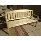 Garden Furniture - 4 Seat Bench with Back