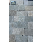 Hardstone - Indian Sandstone Cobbles (Setts) - Tumbled Kandla Grey