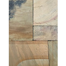 Sandstone Paving - Mint Fossil