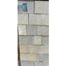 Hardstone - Indian Sandstone Cobbles (Setts) - Sawn - Sandur Yellow - Mixed Sizes Packs