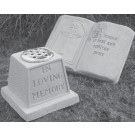 Wall Plaques & Memorials - Prayer Book/In Loving Memory
